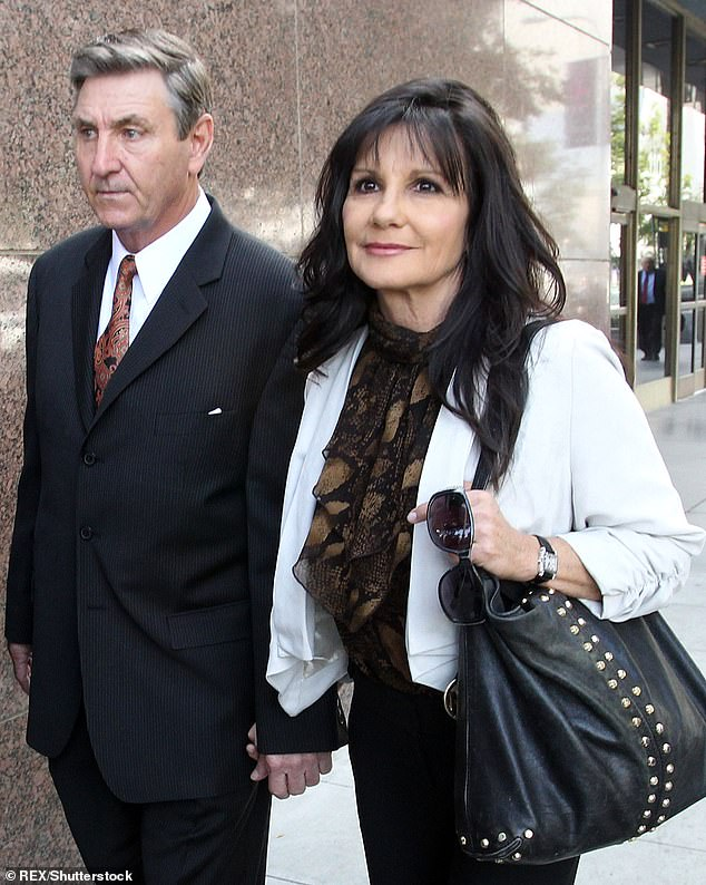 Lost: Britney's parents Jamie and Lynne are seen in November 2012. They had divorced in 2002