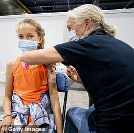 Should we be vaccinating children? Some countries, such as the Netherlands, pictured above, are pressing ahead with this policy, but I think it shouldn't be something we jump into
