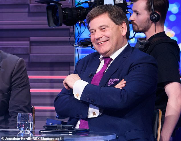 Tory colleague Andrew Bridgen said: 'Surely this latest insight into his deeply flawed character rules him out of ever being offered a peerage by any Government'