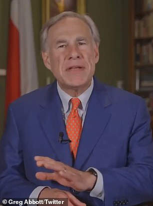 Texas' Republican Governor Greg Abbott late on Tuesday slammed President Biden for 'spreading disinformation' with his speech saying GOP voting bills are 'the most significant threat to democracy since the Civil War'
