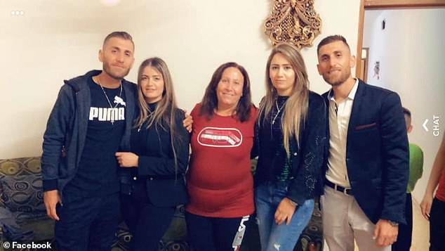 Roni Shawka and Ramsin Shawka (pictured with family) moved to Australia from Iraq and live in western Sydney