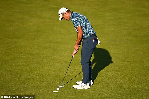 Morikawa's success at his age is impressive and he addressed concerns over his putting