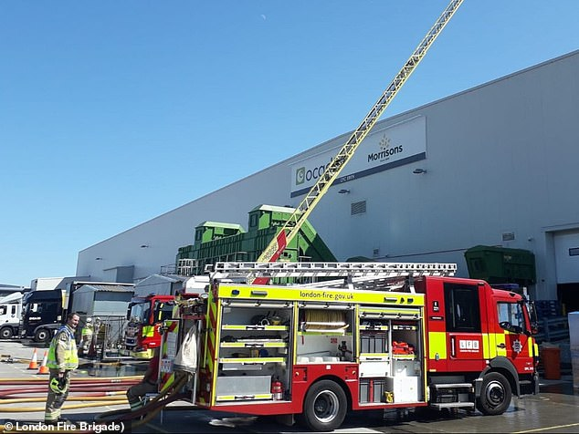 It was reported at the weekend that a collision between 'three robots' at an Ocado warehouse in South-East London caused a conflagration that took around 100 firefighters 14 hours to put out