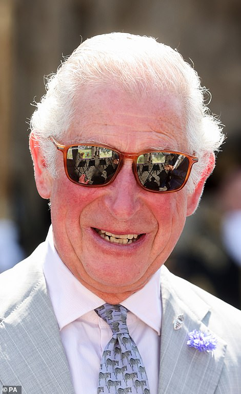 Yesterday it was revealed that Charles will only wear a mask when Government advice dictates that he should do so