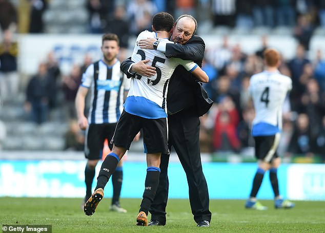 Townsend and Benitez have worked together before during his time at Newcastle