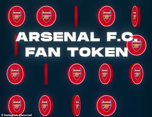 Arsenal have announced they will launch the $AFC Fan Token with move into cryptocurrency