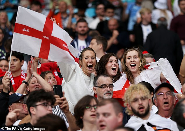 Euro 2020 final between England and Italy at Wembley was a Government Covid test event