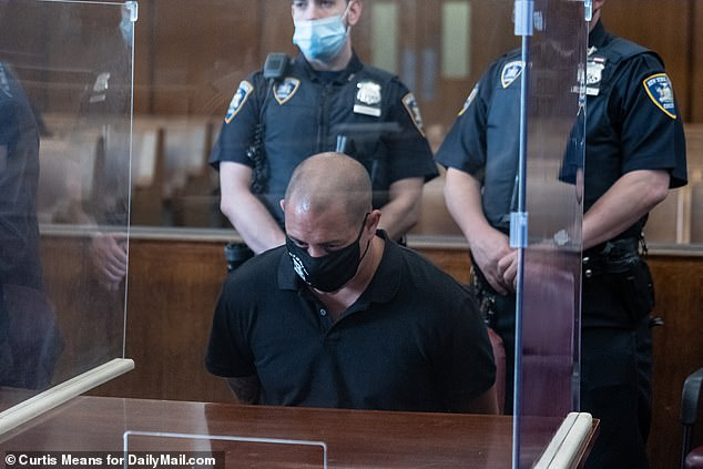 Ex-NYPD detective Daniel Laperuta is among the five bodyguards charged. In addition to robbery charges,Laperuta was also charged with falsely claiming to police that the fan threatened the bodyguards with a weapon
