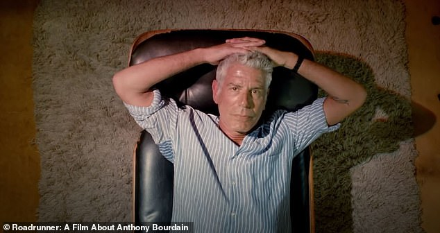 Morgan Neville said he gave a software company a dozen hours of audio tracks, and they developed an'A.I. model of his voice,' so that Neville could have Bourdain read aloud from an email he sent to a friend about whether he felt happy