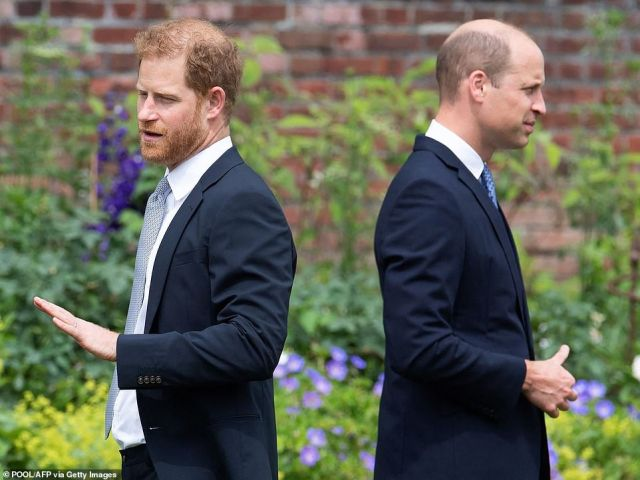 Harry , 36, did not warn his grandmother, father or brother about the tell-all book until 'moments before it became public' in a sign that his relationship with the Royal Family did not improve during his visit to unveil Princess Diana 's statue in London earlier this month