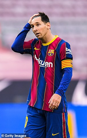 Barca are hoping to free up space to re-sign Lionel Messi