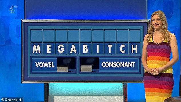 'New profile pic?' 'Megab***h' has become the latest outrageous Countdown word to crop up