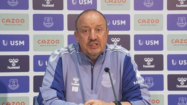 Benitez was pragmatic in his first press conference as Everton boss regarding transfer spend