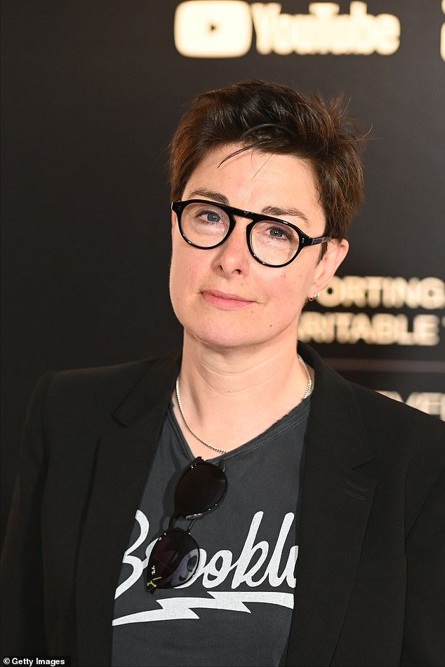 New venture: Sue Perkins was revealed to be the new host of Just A Minute on Tuesday, following former anchor Nicholas Parsons' death