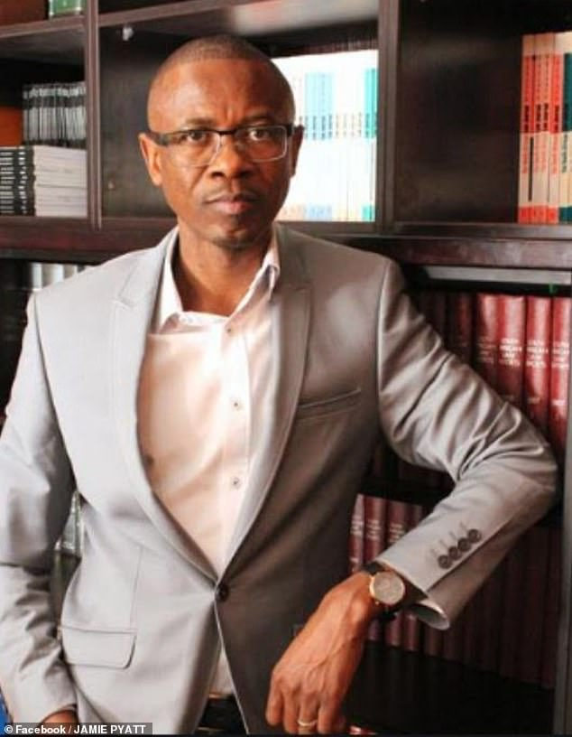 Boulter's top lawyer Mr Sisa Namandje said he had ploughed £7.5m into the country during the 10 years he has lived there and been a permanent resident since 2017