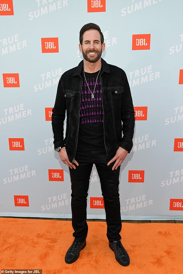 The latest:Tarek El Moussa allegedly went into a verbal tirade toward his ex wife Christina Haack while on the set of their show Flop or Flop; pictured July 8, 2021