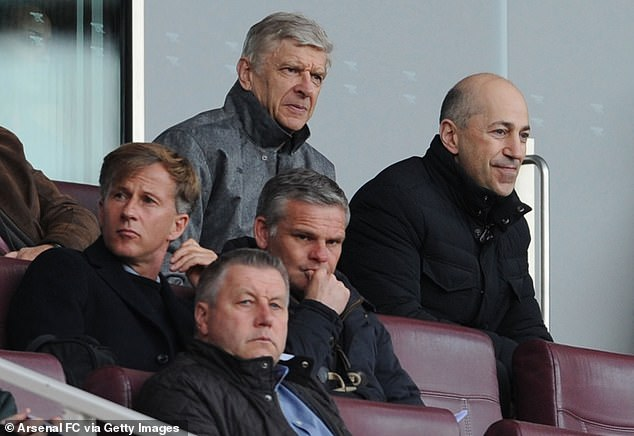 Gazidis worked with Arsene Wenger and oversaw the Frenchman's departure from the club