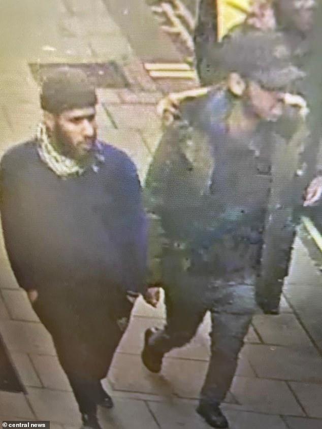Badir Rahim Alnazi, 24 (left), and Arseboon Dilbaro, 23, stand accused of knifing Mohammed Al-Araimi, 20