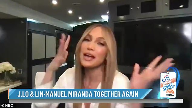 A tribute:She was on the morning show with singer and actor Lin-Manuel Miranda to chat up the re-release of their song Love Makes the World Go Round. It has been released again to coincide with the fifth anniversary of the Pulse nightclub shooting in Orlando Florida which falls on Tuesday. The shooting resulted in 49 deaths and 53 wounded