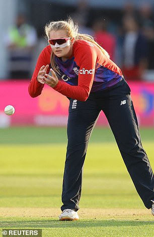 England spinner Sophie Ecclestone