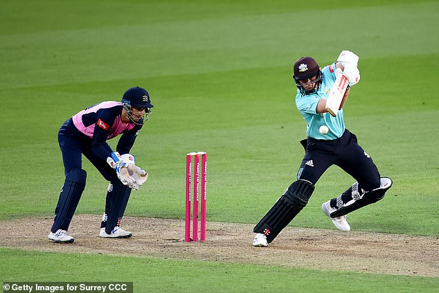 The England batsman sustained a thigh injury playing for Surrey in the T20 Blast