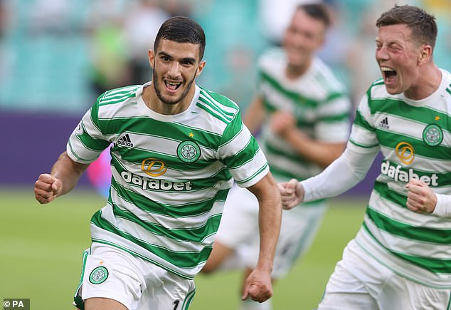 Liel Abada had given Celtic the lead in the 39th minute in the first leg against the Danish side