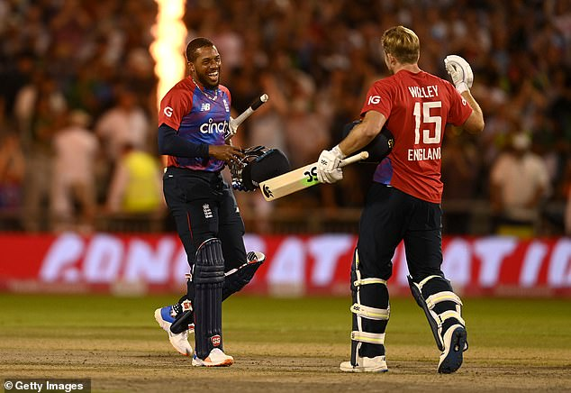 David Willey and Chris Jordan somehow scrambled four runs in the final over as England won