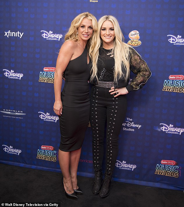Sisters: Jamie Lynn Spears' $1M property in Florida was paid for by Britney Spears, despite claiming she has never taken a penny from her sister, it has been claimed; pictured in 2017