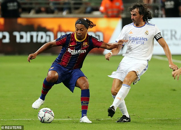 Ronaldinho proved class is permanent after starring for Barcelona against Real Madrid legends