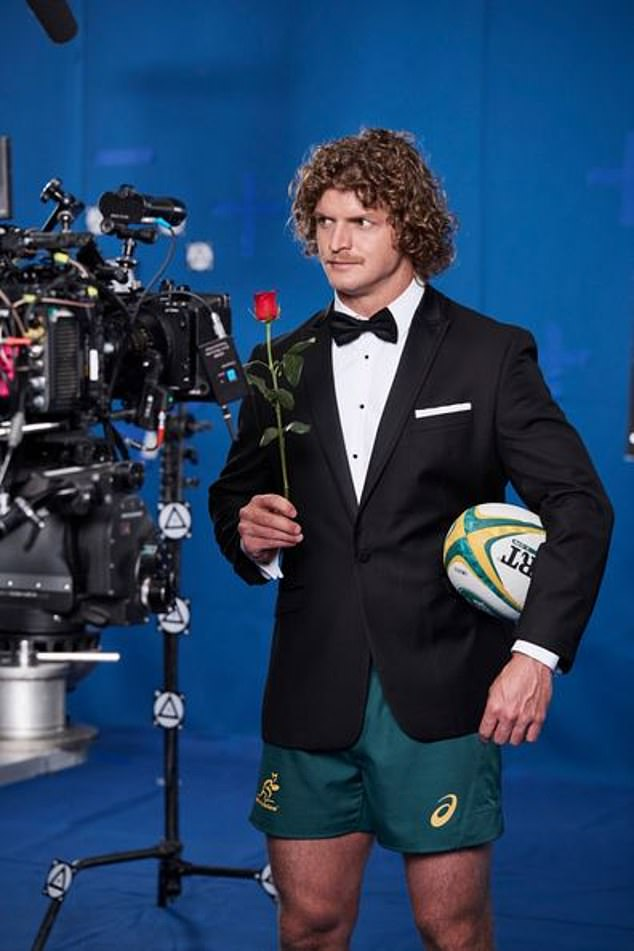 What could have been! There was one was one thing Alisha flat out refused to do, saying: 'They wanted me to put a piece of duct tape over Nick's mouth and just stare at him for three to four minutes.' Pictured: 2018 Bachelor Nick 'The Honey Badger' Cummins