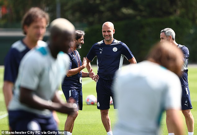 Pep Guardiola is whipping his side into shape ahead of yet another title-defending campaign
