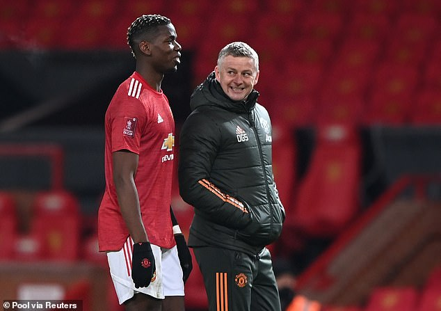 Pogba has a good relationship with Ole Gunnar Solskjaer but there appears little indication he will extend his contract