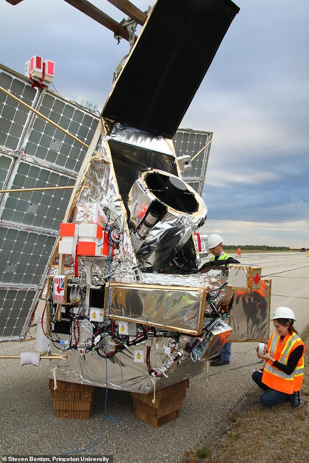 SuperBIT's final preparations for launch from Timmins Stratospheric Balloon Base Canada, in September 2019