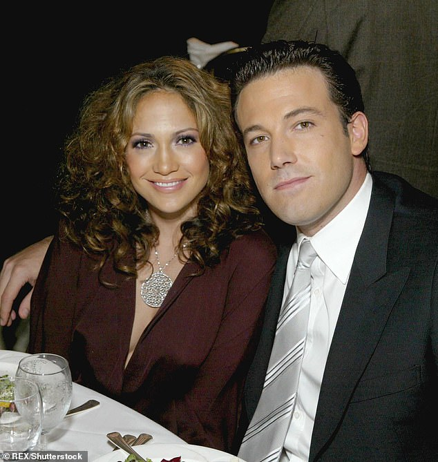 They were serious: Their romance lasted from 2002 until 2004; seen in 2003 in LA