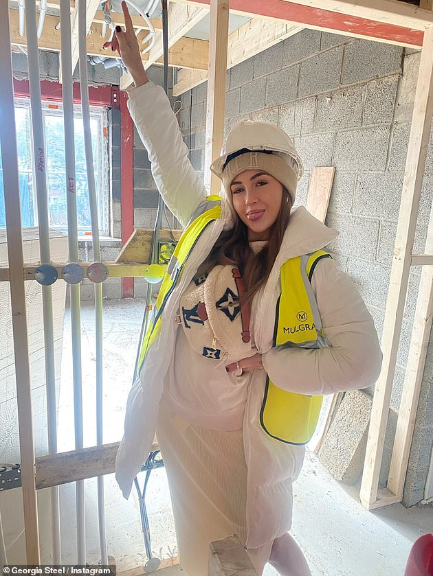 New home:It comes after the star recently revealed her excitement to be embarking on a solo mission to build her own home, sharing the news on Instagram in May