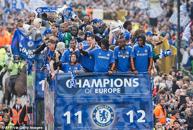 Chelsea were denied a Champions League parade, like in 2012, this summer due to Covid rules