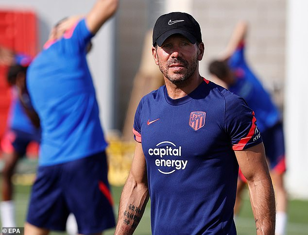 Diego Simeone has told Barcelona and Real Madrid that 'they know they can't make mistakes'