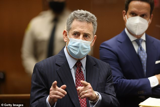 His attorney Mark Werksman (above) entered the not guilty plea for the disgraced movie mogul less than 24 hours after Weinstein was extradited to California from New York where he is serving a 23-year prison term