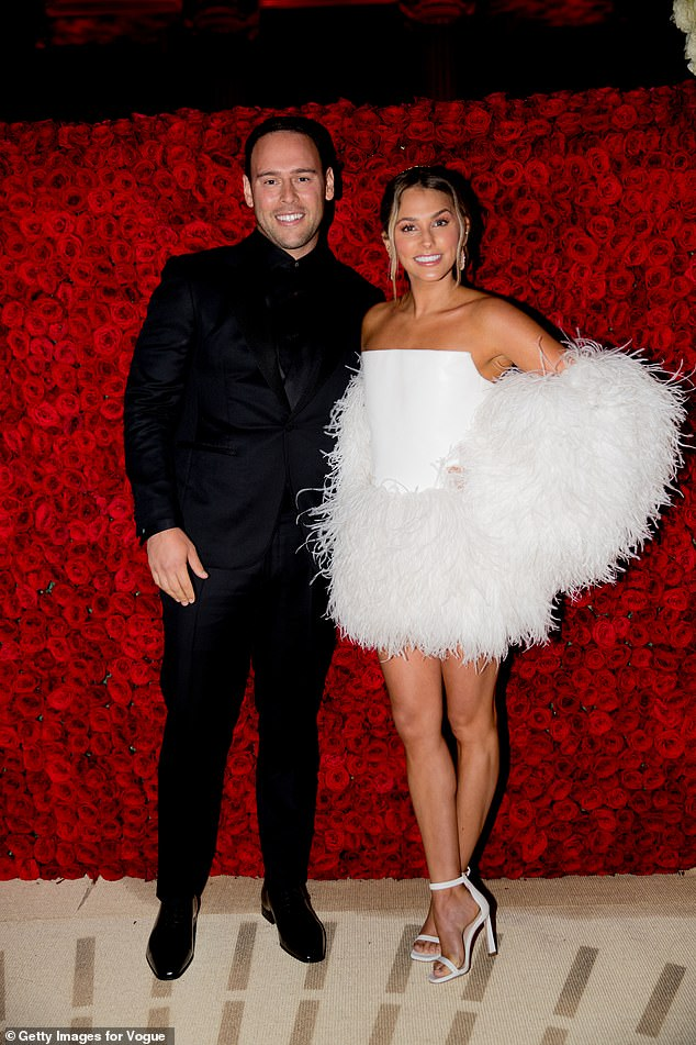 It's over!Scooter Braun has officially filed for divorce from wife of seven years Yael Braun. They're seen in 2018 above