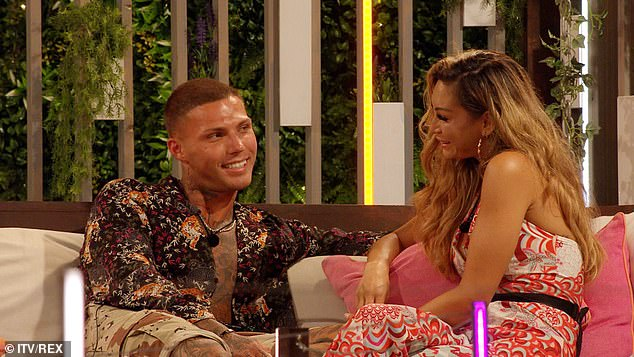 All over:AJ and Danny were dumped from the villa during Wednesday's explosive show