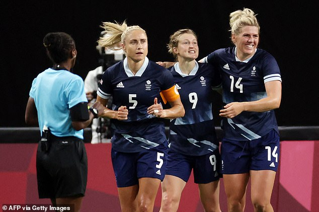 Team GB kicked off their Olympic campaign on Wednesday when the women's soccer team defeated Chile 2-0
