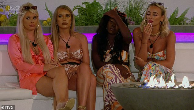 Decisions: Liberty, Faye, Kaz and Millie were in turmoil as they decided the fate of one boy