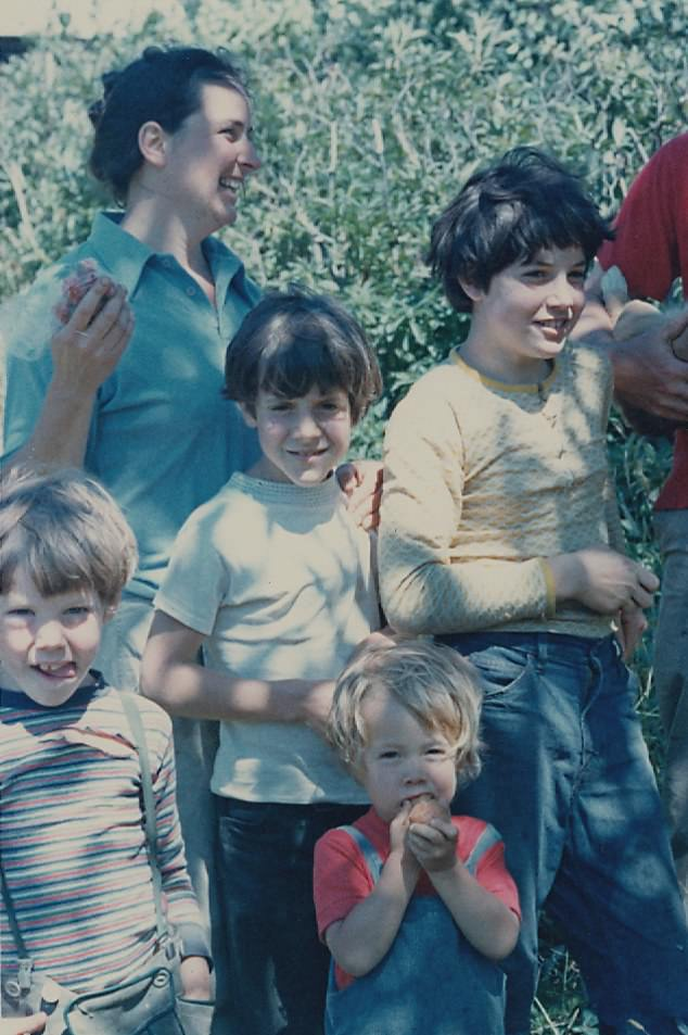 On December 31, 1977, Carol Van Strum arrived home to find her house in flames. Her four children, aged five to 13, (pictured) perished inside