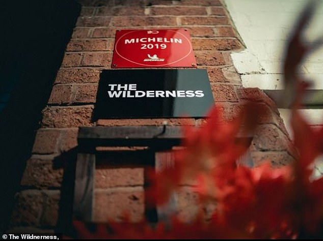 Alex Claridge, chef-owner of The Wildnerness (pictured) a modern British fine dining establishment in Birmingham's upmarket Jewellery Quarter which is listed in the Michelin Guide, said he was 'flabbergasted' by customers who were cancelling reservations because they are keeping they in place, calling them 'f****** nuts'