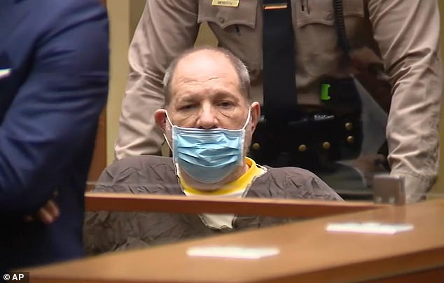 Disgraced Hollywood producer Harvey Weinstein, 69, was arraigned in a Los Angeles court on Wednesday