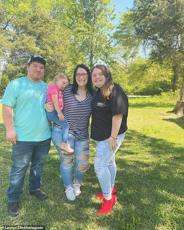 All grown up: Lauryn and Alana grew up in front of the cameras and most recently starred on Mama June: Road to Redemption