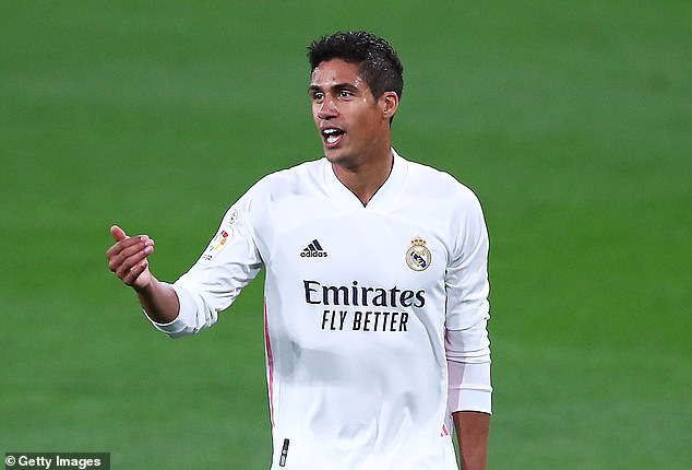 Manchester United are reportedly in talks with Real Madrid over a deal for Raphael Varane