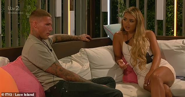 Coupled up: Dannywas previously coupled with Lucinda before they decided to go their separate ways