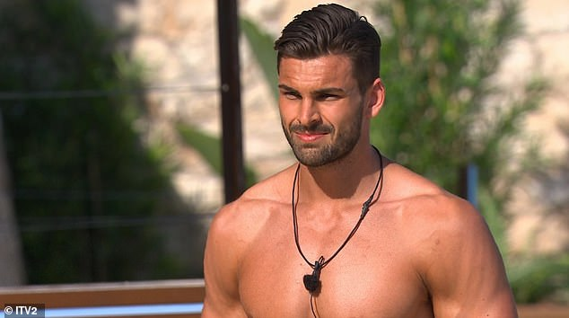 Oh dear:It isn't the first time accusations of gaslighting have been made towards contestants on the show. Adam Collard sparked concerns over his relationship with Rosie Williams during series four when his head was turned by Zara McDermott