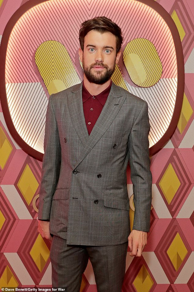 Dashing: The comics in her romantic history include Jack Whitehall (pictured in 2020) and Saturday Night Live star Pete Davidson